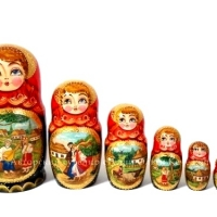 "Matryoshka ""Ukrainian Paintings 2"""